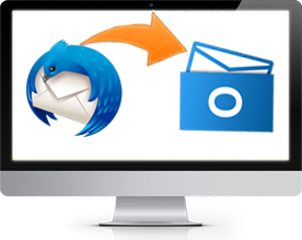 import thunderbird mail to outlook