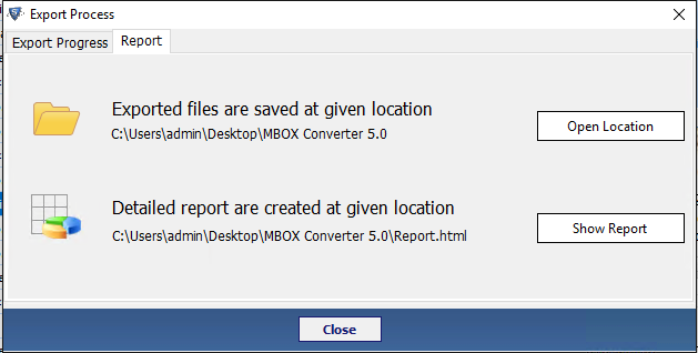 open location to see pst file