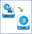 move mbox files to msg