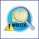 find all MBOX files from folder
